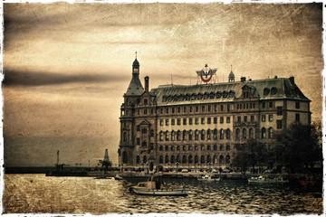 Haydarpasa Istanbul Old Scene