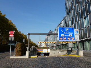 Tiefgarage Rheinauhafen Köln