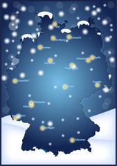 Deutschland im Winter