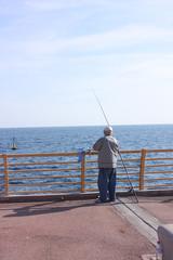 la pêche solitaire