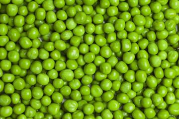 sweet green peas background