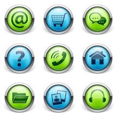 icône bouton internet