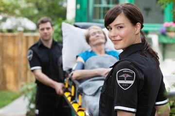 Ambulance Worker Portrait