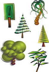 clipart trees