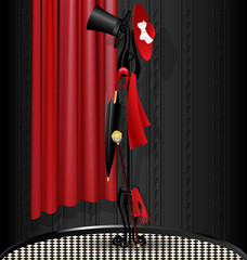 black-red dummy