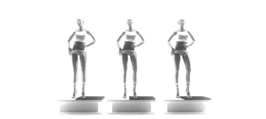 manichino 3d moda fashion