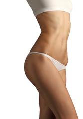 beautiful female fitness body