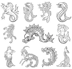 Heraldic monsters vol VI