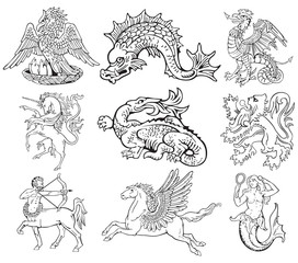 Heraldic monsters vol VII