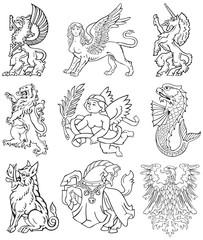 Heraldic monsters vol VIII