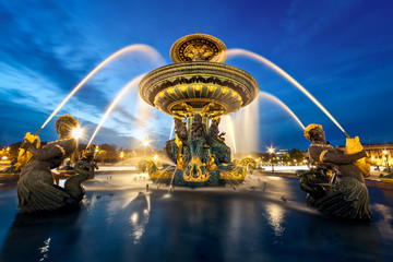 fontaine place de la Concorde, Paris