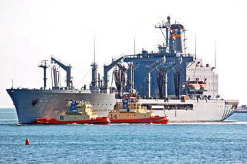 The USNS Guadalupe