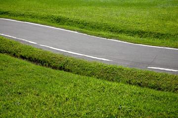bike and the road