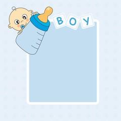 Marco bebe niño