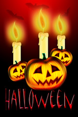 light Halloween - poster