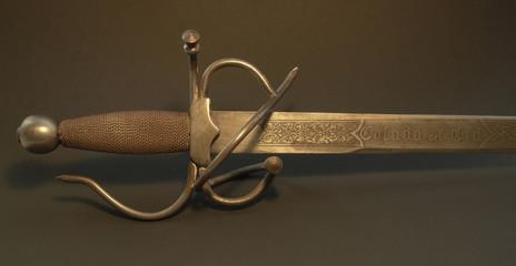 handle of a nostalgic sword