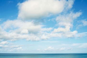 Wall Mural - 沖縄の海と青空