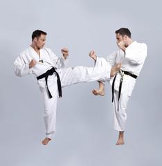 Karate vs Taekwondo, Partnertraining 08