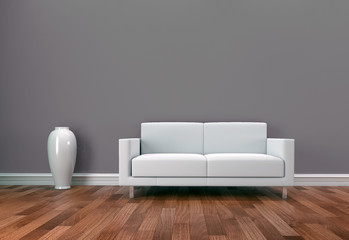 3d divano e parquet
