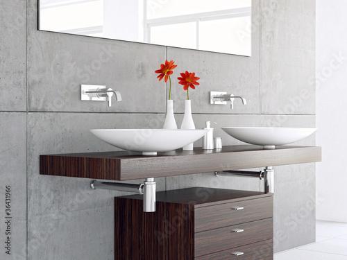 Kleine Badezimmer Ideen Grau