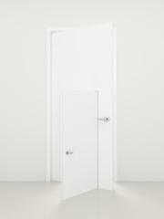 Open doors.
