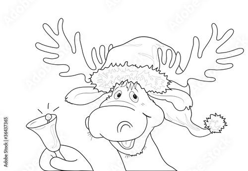 malvorlagen weihnachtsmann xxl - malvorlagen