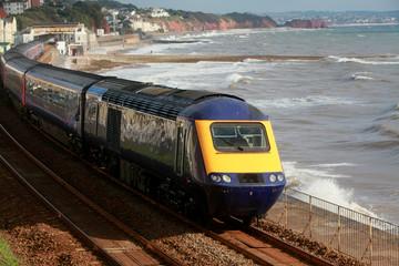 The Dawlish train