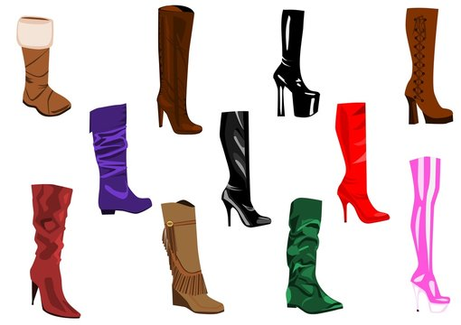 Women's boots collection