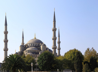 The Blue Mosque, Istanbul (Turkey)