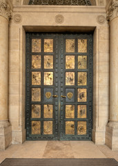 The door of Chatedral Pécs