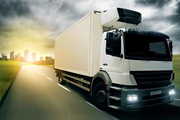 Fototapete - Fast Truck