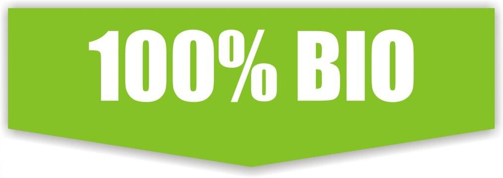 bouton 100% bio