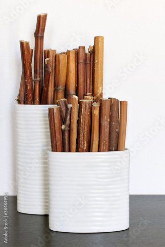 Vase With Bamboo Sticks ~ Quot bamboo sticks in ceramic vases stock photo and royalty