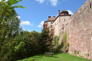 Chateau de La Petite Pierre, Alsace, France