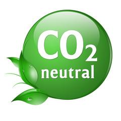 button co2 neutral kohlendioxid