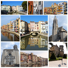 Europe cities collage