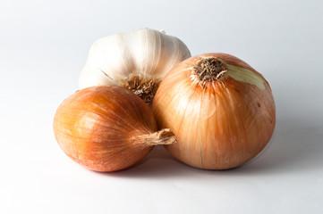 garlic onion and shallot