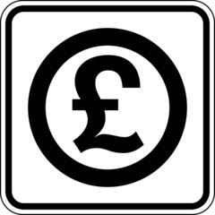 £ Britisches Pfund Sterling Währung Zahlungsmittel Symbol