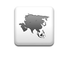 Boton cuadrado blanco silueta Asia