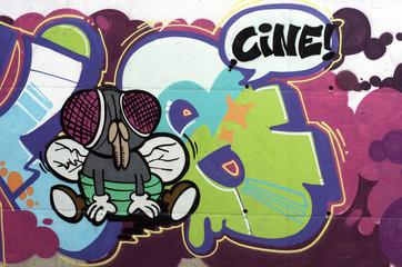 Graffiti mosca