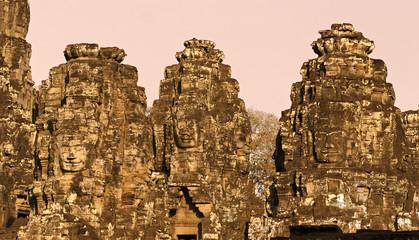 Bayon tower, Cambodia