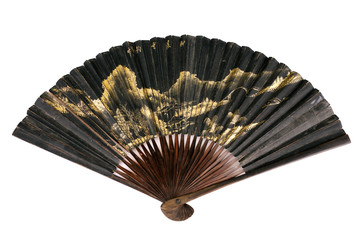 old chinese fan