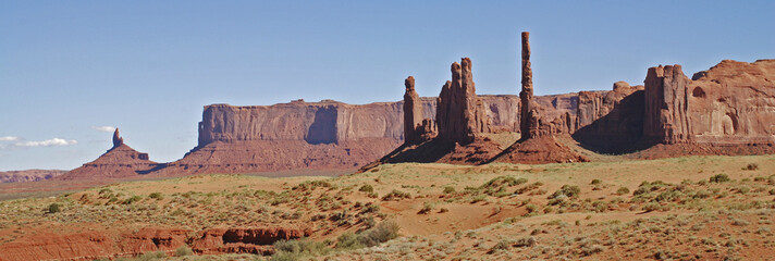 Wall Mural - Monument Valley Totem