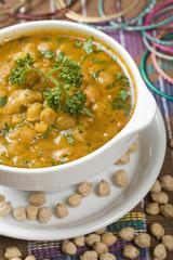 Indian Soup, Kabuli Channa