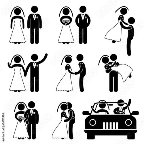 Marry Marriage Bride Bridegroom 45