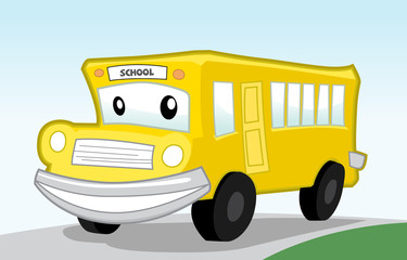 Cartoon Bus