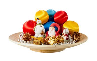 Santa Claus and christmas decoration
