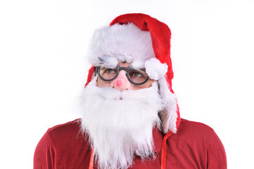 Smiling Santa Claus portrait