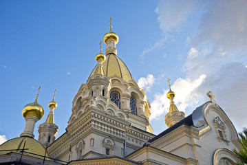 The cathedral in Sevastopol