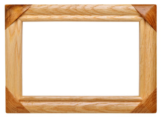 Frame made of wood